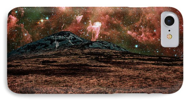 Red Planet Phone Case by Semmick Photo