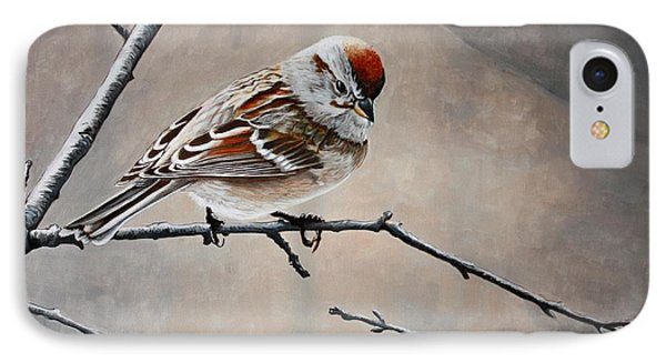 Red Poll Phone Case by Pam Kaur