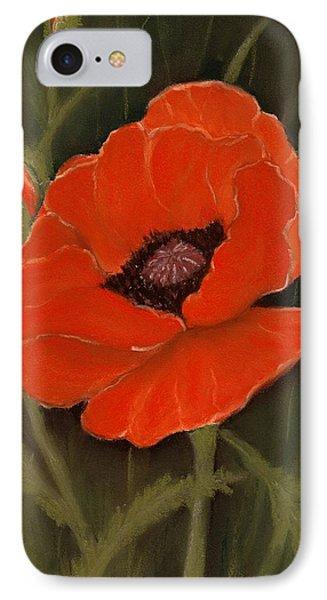 Red Poppy IPhone Case by Anastasiya Malakhova