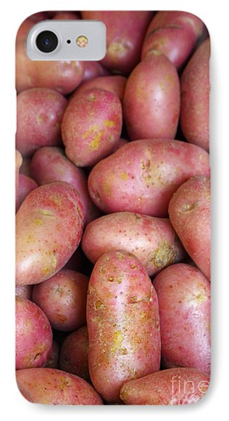 Red Potatoes Phone Case by Carlos Caetano