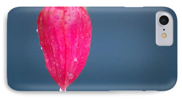 Red Rain Phone Case by Vinci Photo