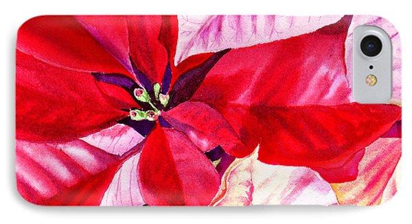 Red Red Christmas Phone Case by Irina Sztukowski