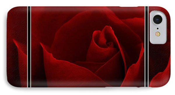 Red Red Rose II IPhone Case by Charles Feagans