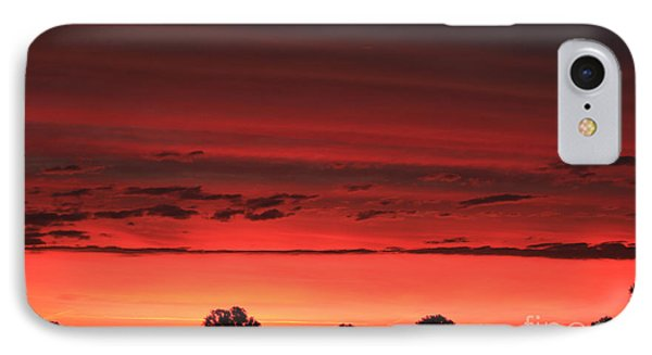 Red Red Sunrise IPhone Case