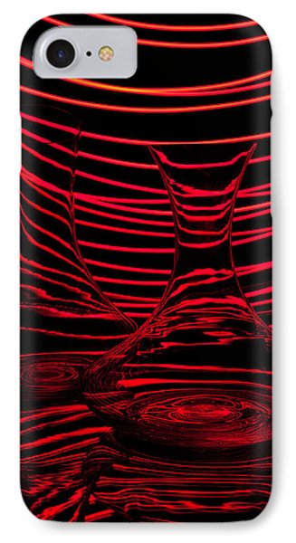 Red Rhythm II Phone Case by Davorin Mance