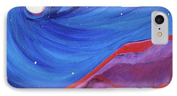 IPhone Case featuring the painting Red Ridge By Jrr by First Star Art