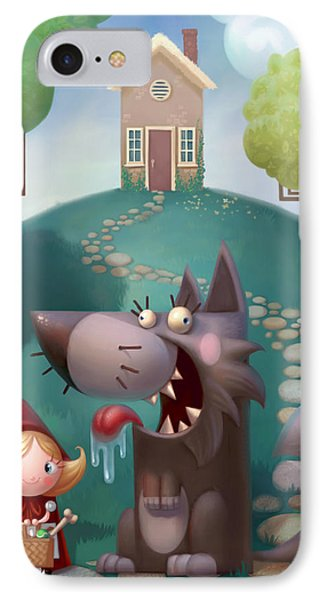 Red Riding Hood IPhone Case by Adam Ford