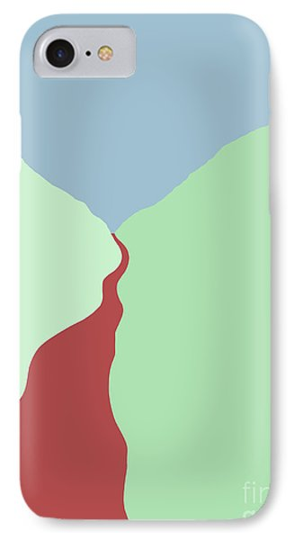 Red River IPhone Case by Henry Manning
