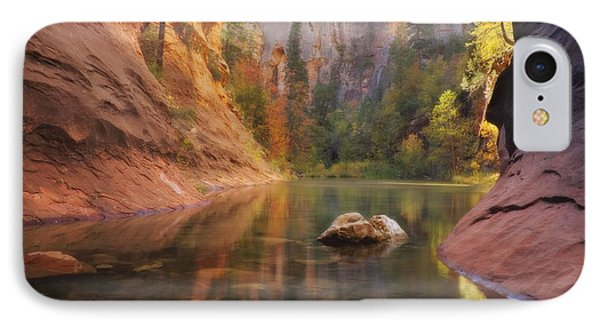 Red Rock Autumn IPhone Case