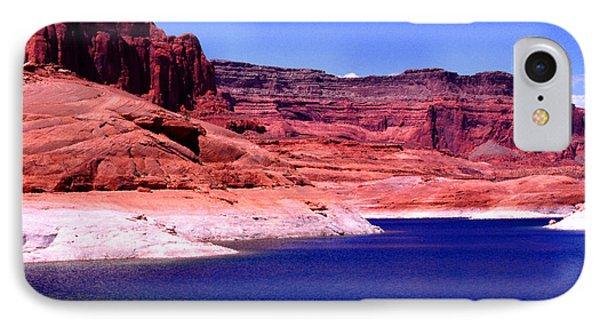 Red Rock Blue Sky Phone Case by Thomas R Fletcher