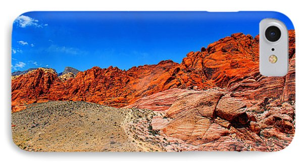 Red Rock Canyon IPhone Case by Mariola Bitner