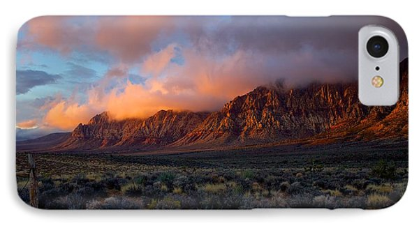 IPhone Case featuring the photograph Red Rock Canyon National Conservation Area Las Vegas by Michael Rogers