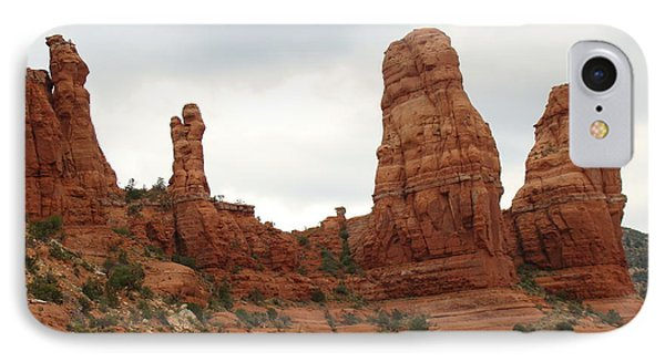 Red Rock Country Sedona Az IPhone Case by Beverly Guilliams