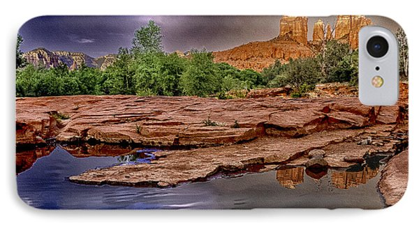 Red Rock Crossing Red Rock State Park IPhone Case