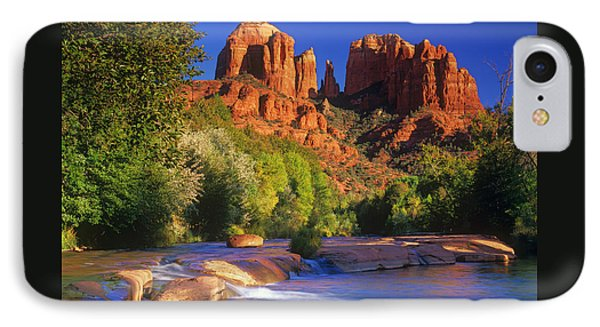 Red Rock Crossing IPhone Case by Timm Chapman