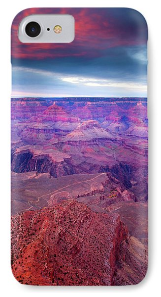 Red Rock Dusk IPhone 7 Case by Mike  Dawson