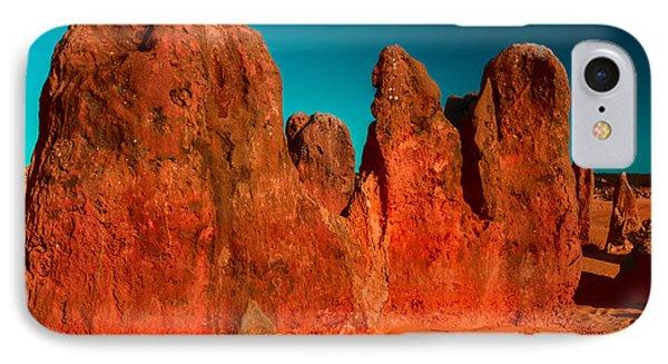 Red Rock Pinnacle IPhone Case