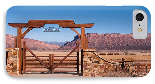 Red Rock Ranch Phone Case by Bob and Nancy Kendrick