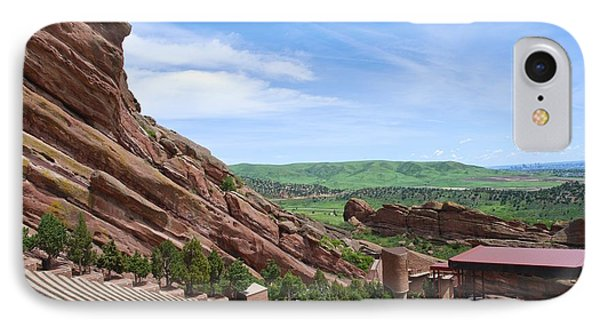Red Rocks IPhone Case by Charlie and Norma Brock
