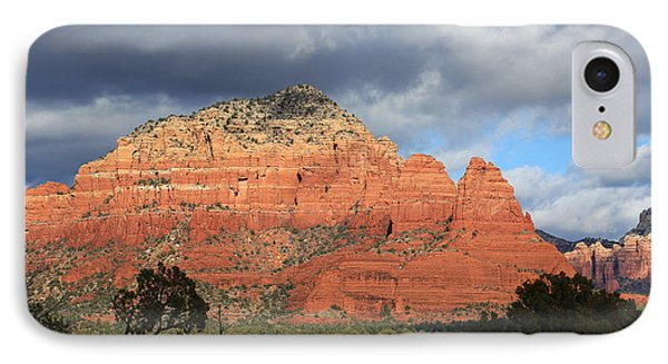 Red Rocks Of Sedona 3 IPhone Case