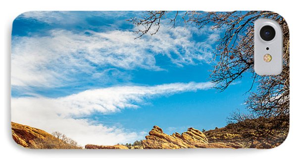 Red Rocks View 001 IPhone Case by Todd Soderstrom