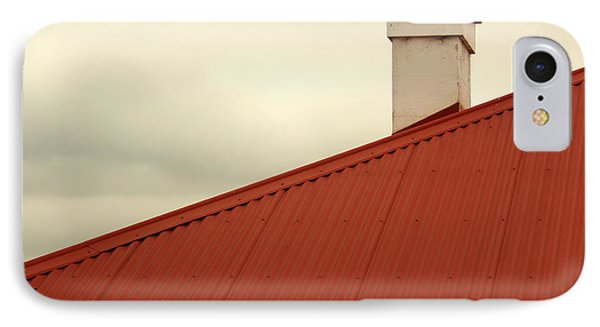 Red Roof Phone Case by Kaleidoscopik Photography