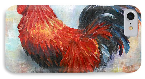 Red Rooster Phone Case by Dorothy Maier