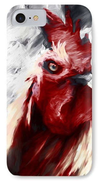 Red Rooster Rampage IPhone Case