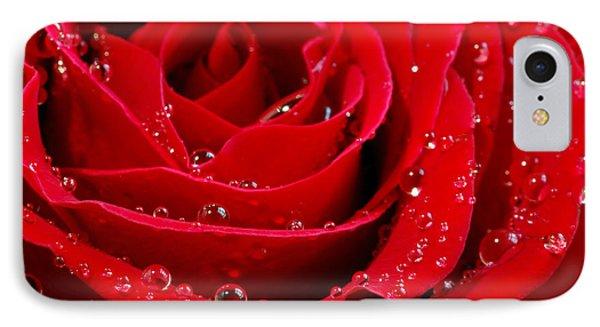 Red Rose Phone Case by Elena Elisseeva