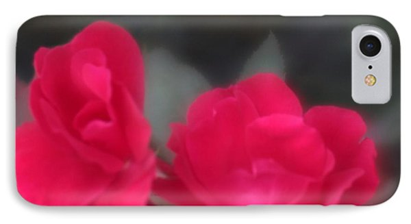 Red Rose Harmony IPhone Case by Mary Lou Chmura