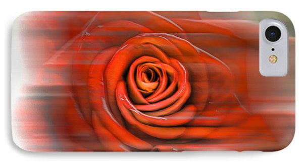 IPhone Case featuring the photograph Red Rose by Leif Sohlman