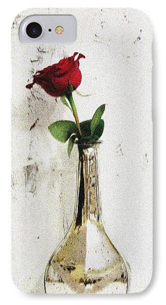 Red Rose Love IPhone Case by Marsha Heiken
