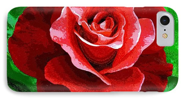 Red Rose Radiance IPhone Case