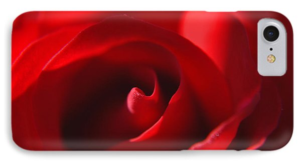 IPhone Case featuring the photograph Red Rose by Tikvah's Hope