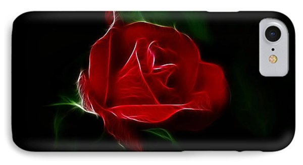 Red Rose Phone Case by Sandy Keeton