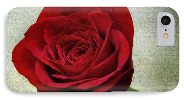Red Rose V2 IPhone Case by Ian Mitchell