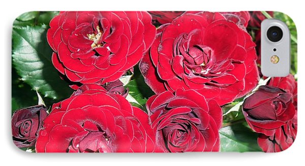 IPhone Case featuring the photograph Red Roses by Vesna Martinjak