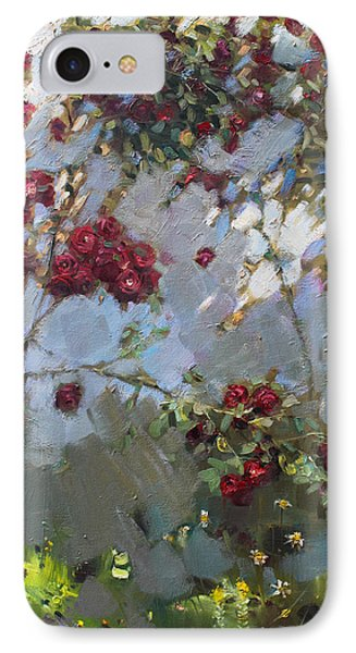 Red Roses Phone Case by Ylli Haruni
