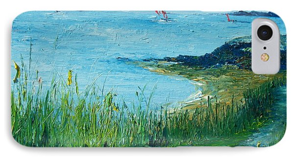 Red Sails In Galway Bay Phone Case by Conor Murphy