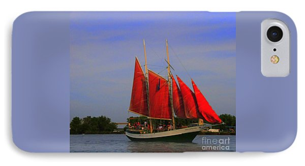 Red Sails IPhone Case