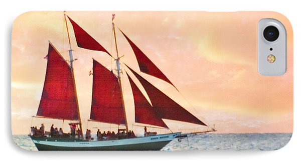 Red Sails Sunset IPhone Case
