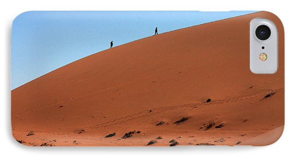 Red Sand Dunes Phone Case by Aidan Moran