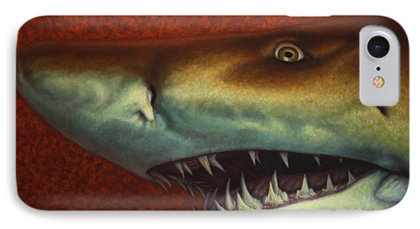 Red Sea Shark IPhone Case by James W Johnson