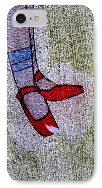 IPhone Case featuring the photograph Red Shoes by Robert Riordan