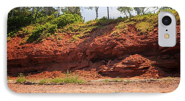 Red Shore Of Prince Edward Island IPhone Case by Elena Elisseeva