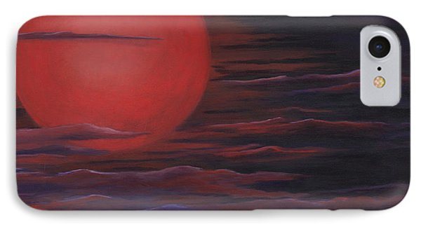 Red Sky A Night IPhone Case by Michelle Joseph-Long