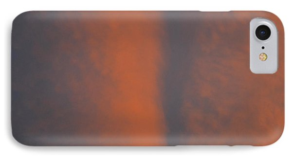 IPhone Case featuring the photograph Red Sky Above  by Lyle Crump
