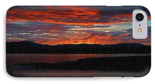 Red Sky At Night Phone Case by Bruce Nutting