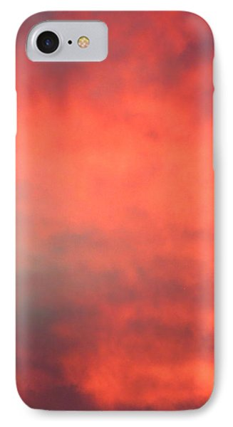 Red Sky At Night IPhone Case by Laurel Powell