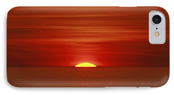 Red Sky At Night Phone Case by Michael Allen